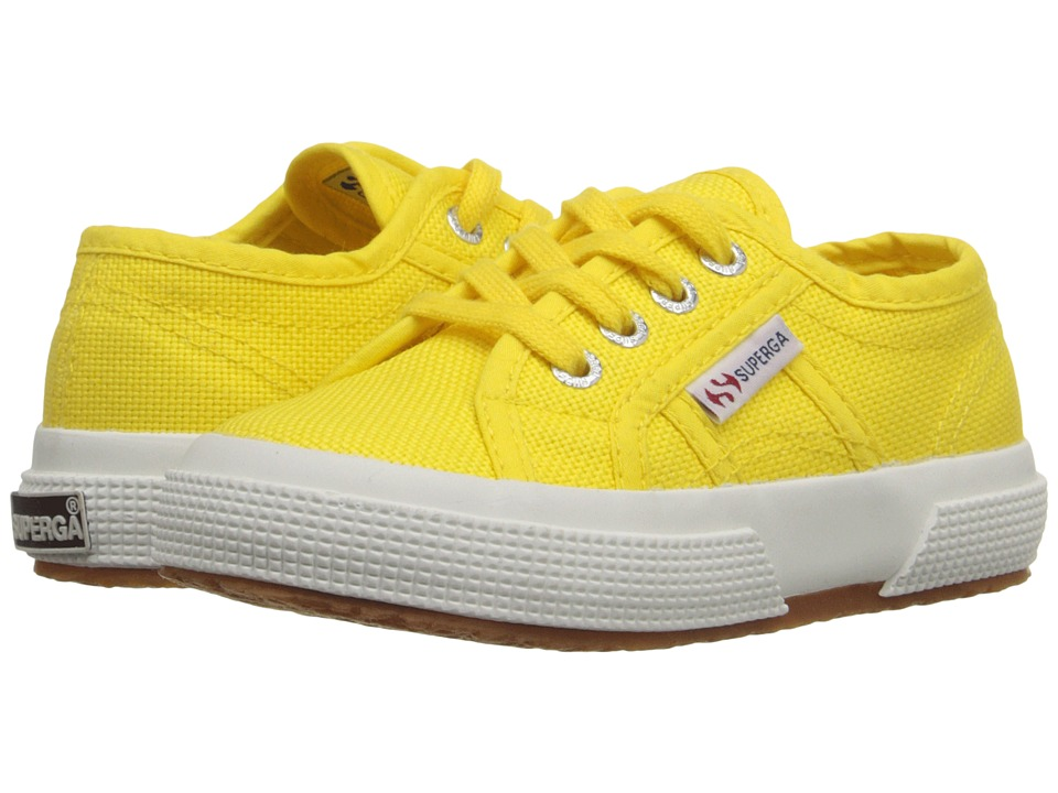 Superga Kids - 2750 JCOT Classic (Infant/Toddler/Little Kid/Big Kid) (Sunflower) Girls Shoes