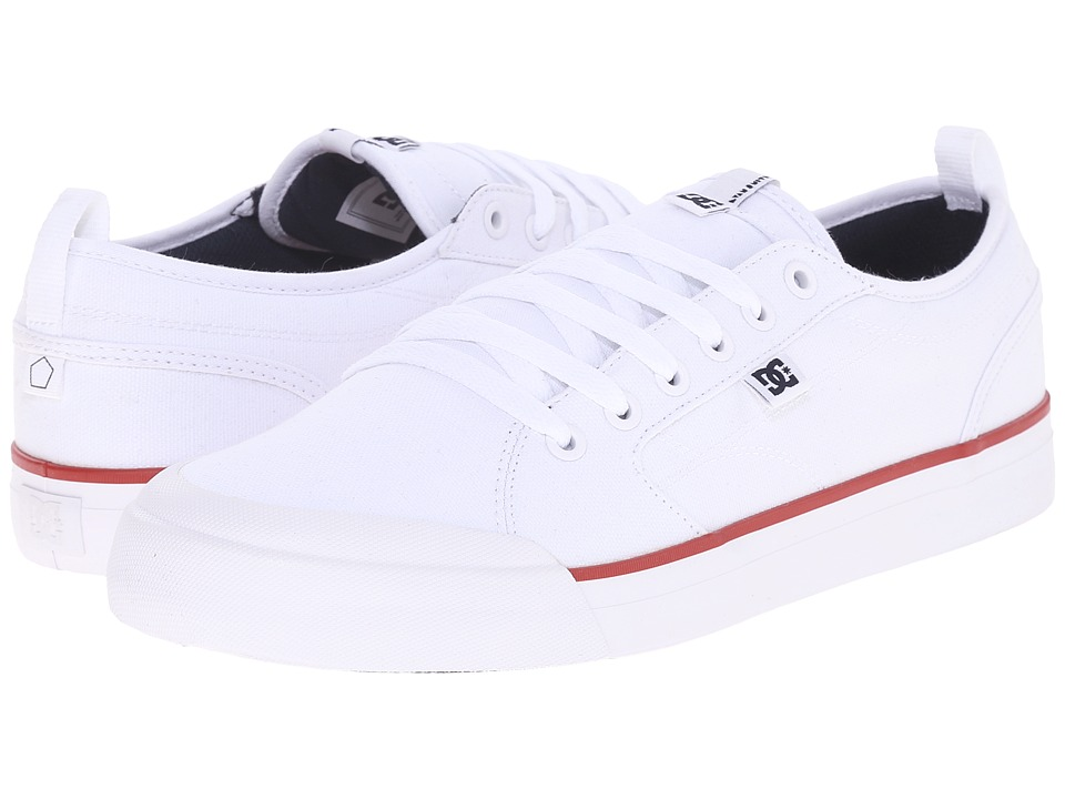 DC Evan Smith TX (White/Navy/Red) Men