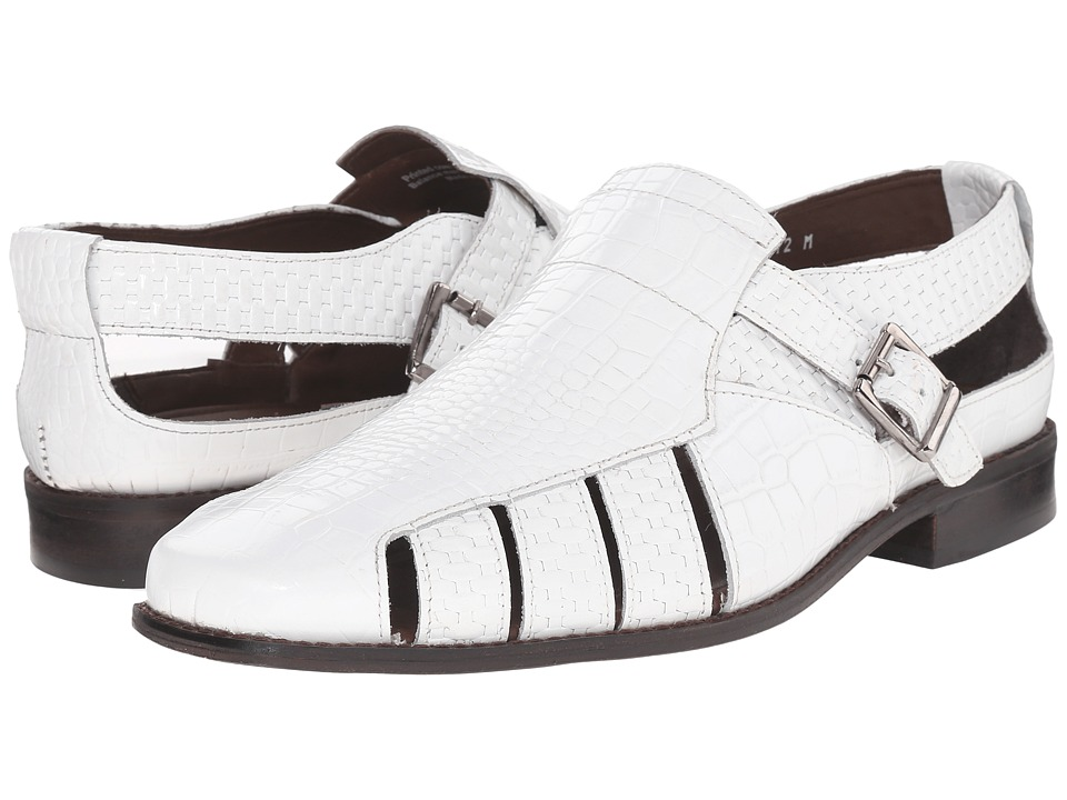 Stacy Adams Sacchi White Mens Shoes
