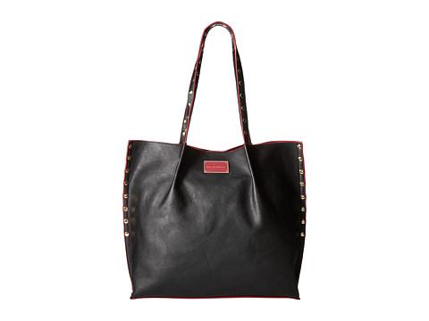 Big Buddha - Cassidy Tote (Black/Wine) Tote Handbags
