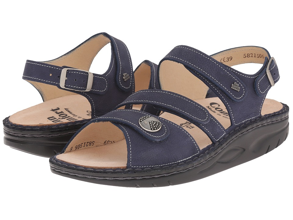 Finn Comfort - Tiberias (Lake) Women's Toe Open Shoes