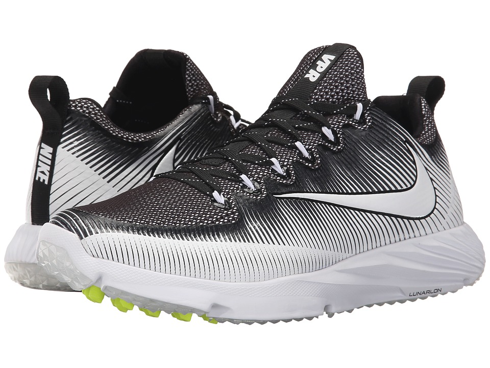Nike - Vapor Speed Turf (Black/White/Black) Men's Shoes