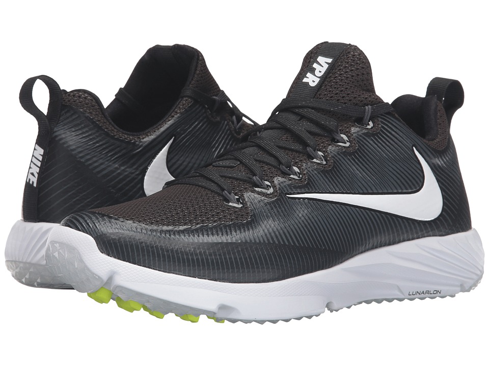 Nike - Vapor Speed Turf (Black/Volt/Anthracite/White) Men's Shoes