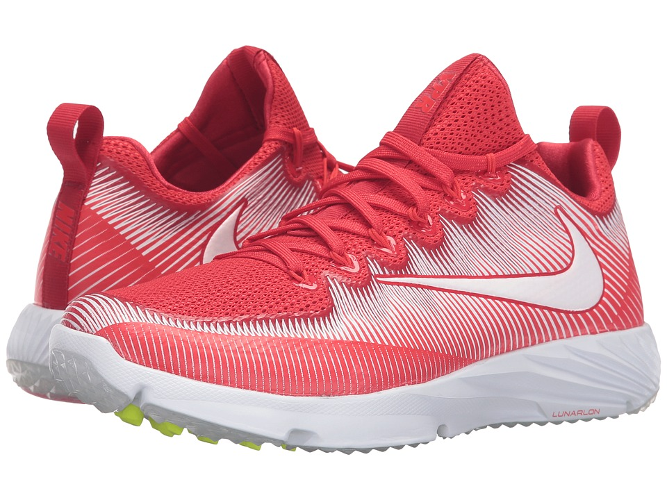 Nike - Vapor Speed Turf (University Red/Total Crimson/White) Men's Shoes