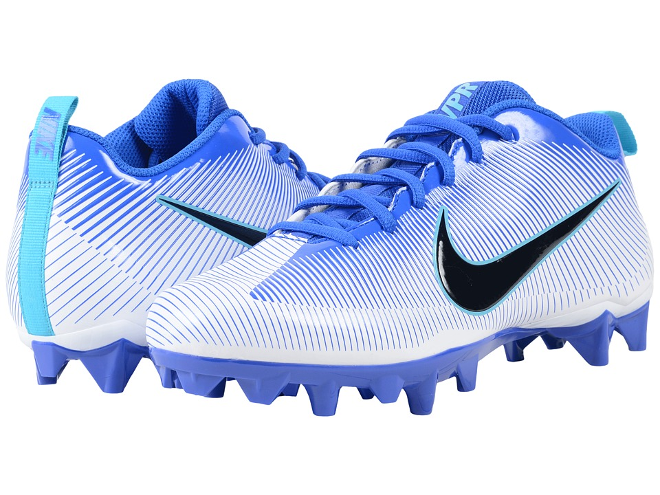 Nike - Vapor Strike 5 TD (Reacer Blue/White/Omega Blue/Black) Men's Cleated Shoes