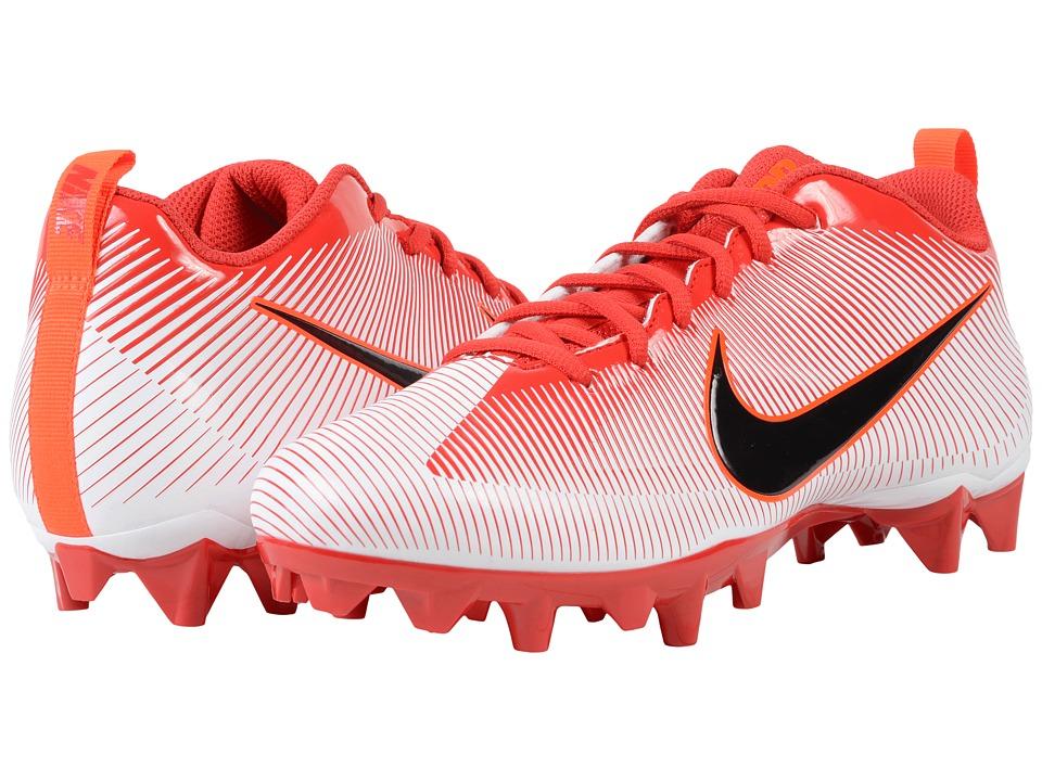 Nike - Vapor Strike 5 TD (University Red/White/Total Crimson/Black) Men's Cleated Shoes