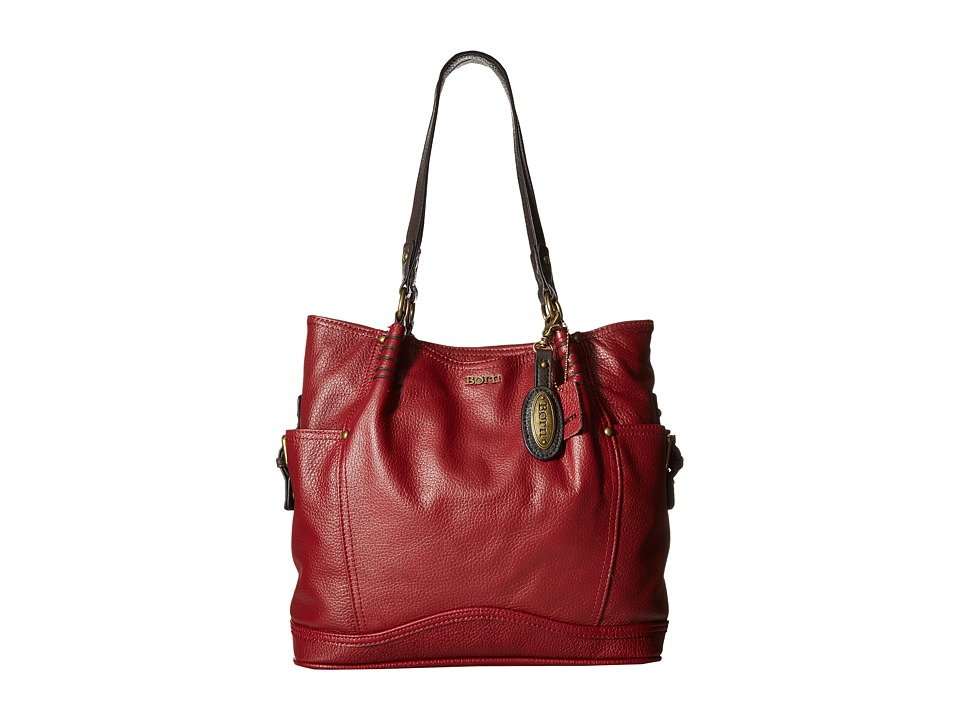 Born - Amaroni Tote (Burgundy) Shoulder Handbags