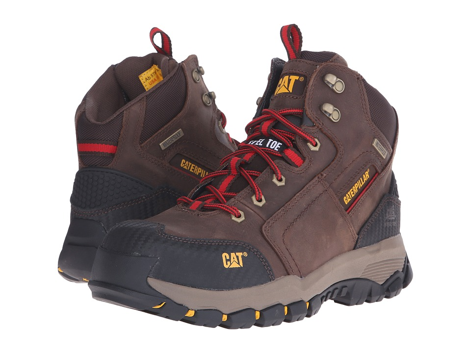 Caterpillar - Navigator Mid WP ST (Clay) Men's Work Boots