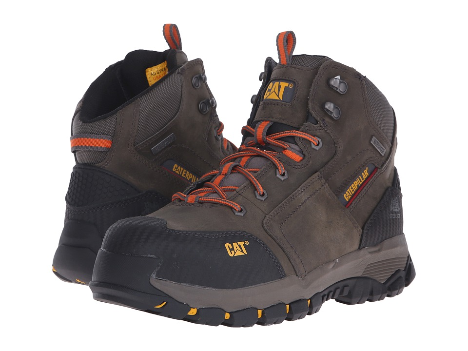 Caterpillar Navigator Mid WP ST (Dark Gull Grey) Men