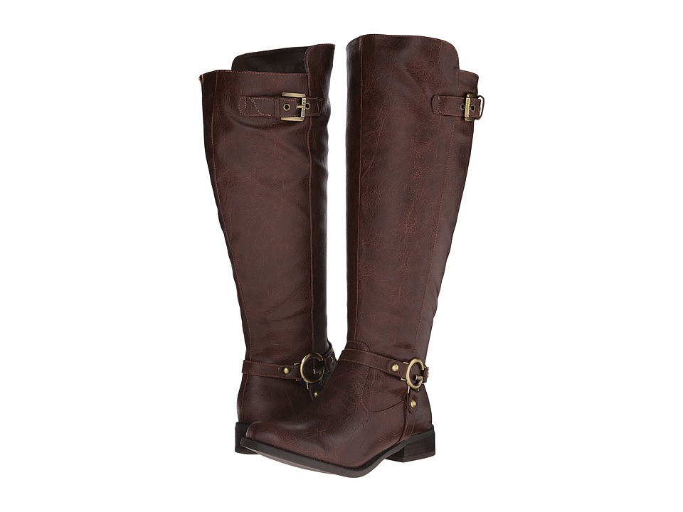 G by GUESS - Headl-WC (Dark Brown) Women's Boots