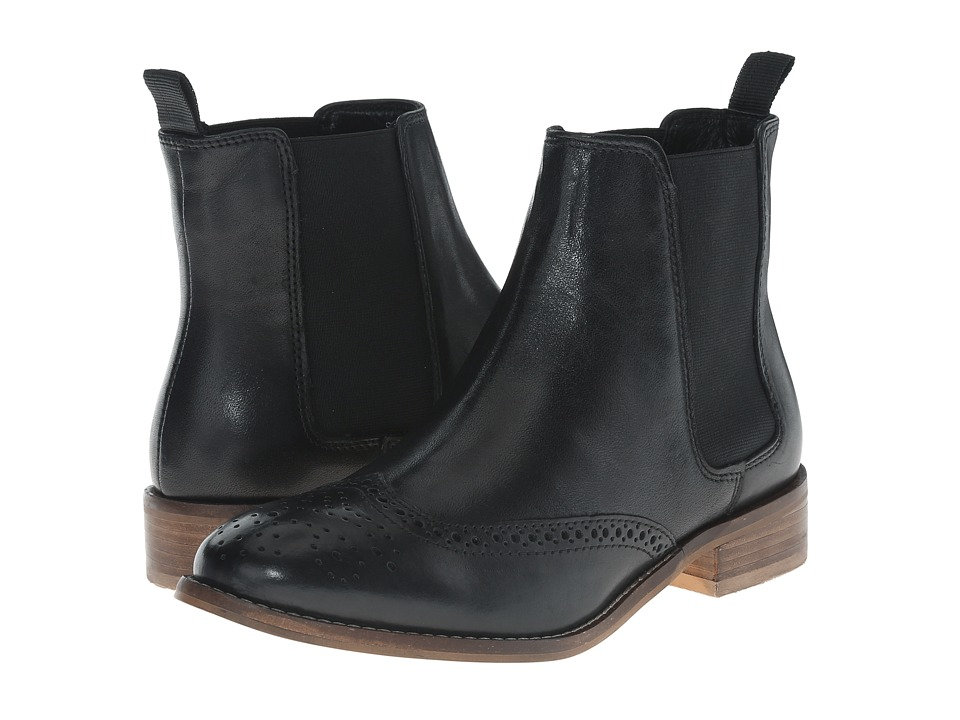 Dune London - Quentin (Black Leather) Women's Pull-on Boots
