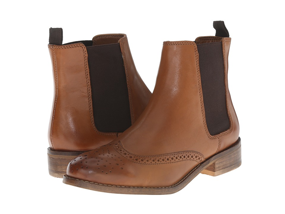 Dune London - Quentin (Tan Leather) Women's Pull-on Boots
