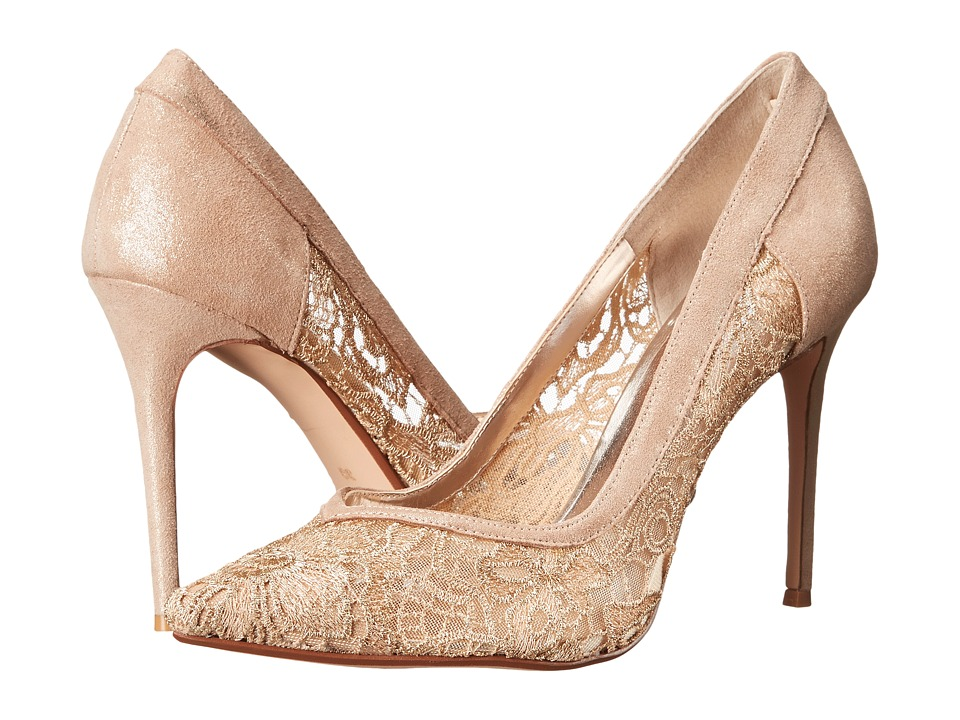 Dune London - Buffie (Champagne Leather) High Heels