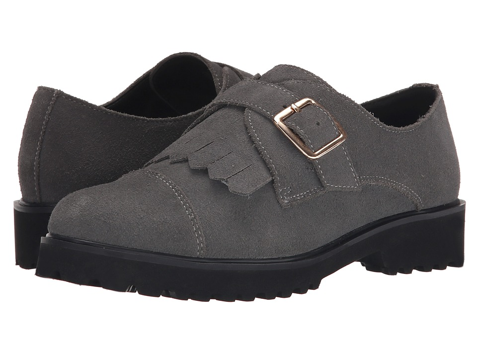 Dune London Flipped (Grey Suede) Women