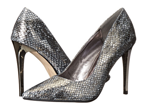 Dune London - Betsee (Pewter Snake) High Heels