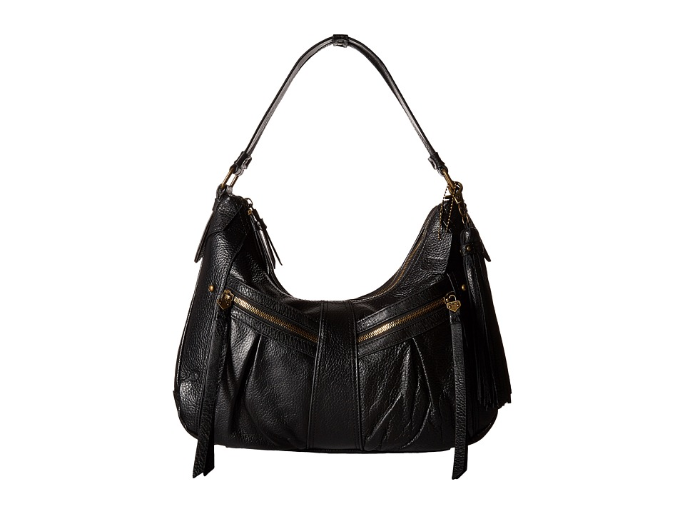 Born - Lynwood Hobo (Black 1) Hobo Handbags