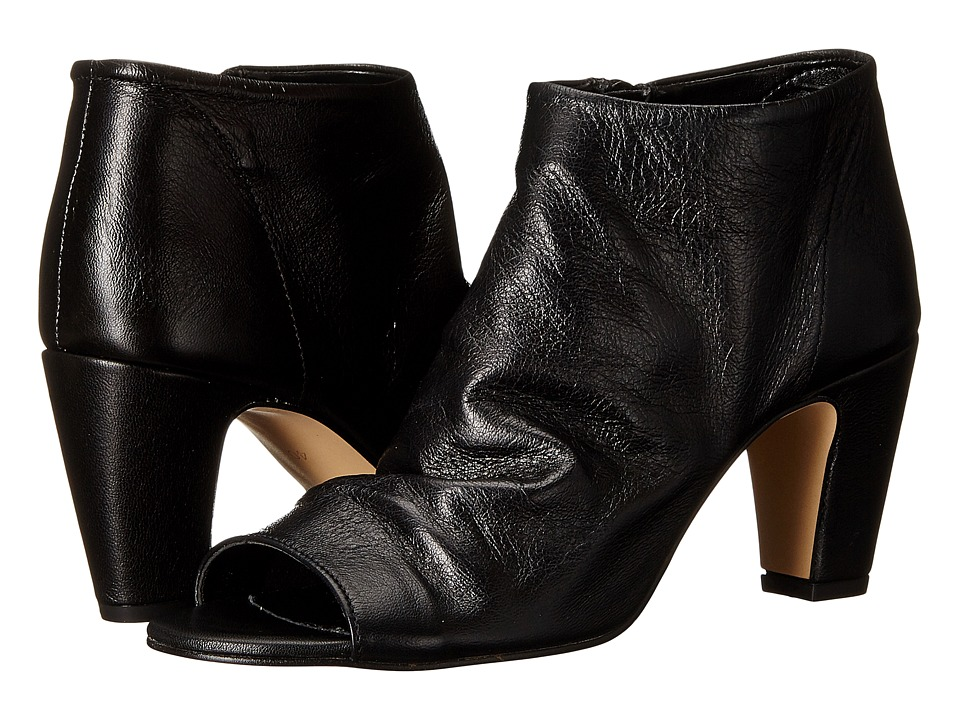 Dune London - Caitlen (Black Leather) High Heels