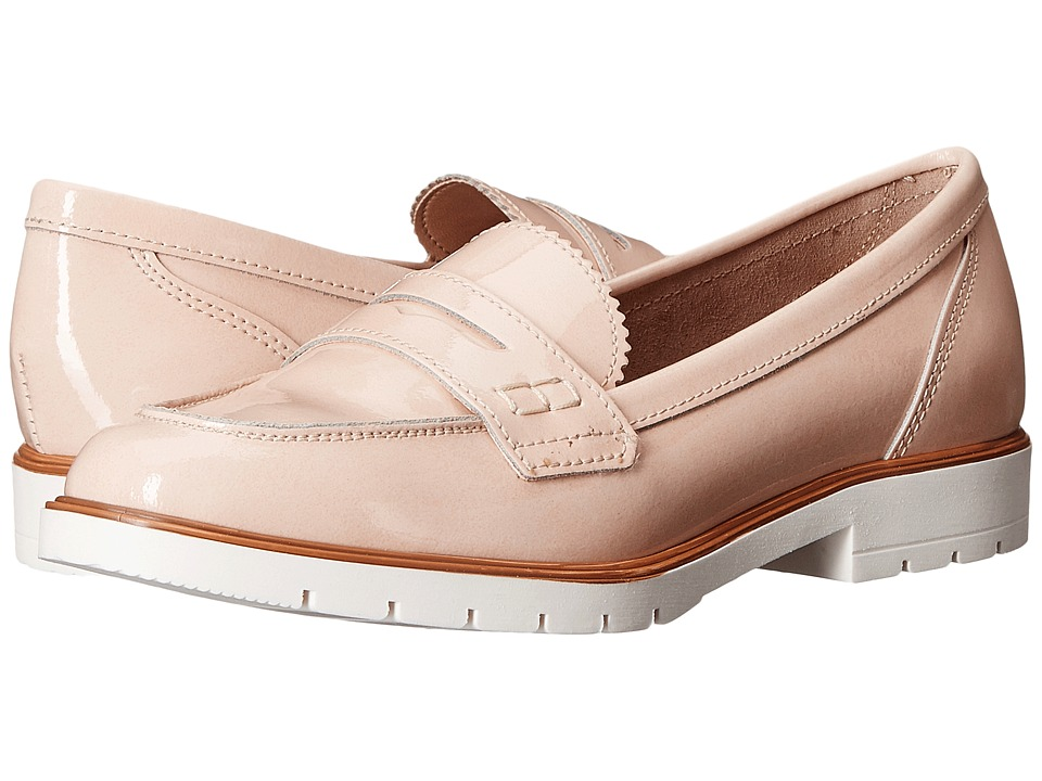 Dune London - Gleat (Nude Patent) Women's Flat Shoes