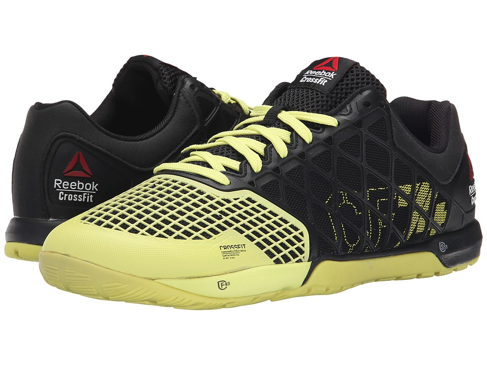 Reebok - Crossfit Nano 4.0 (Black/High Vis Green) Men