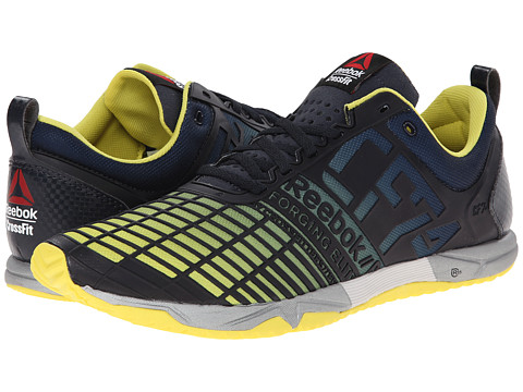 Reebok - Crossfit Sprint Tr (Reebok Navy/Stinger Yellow) Men's Shoes