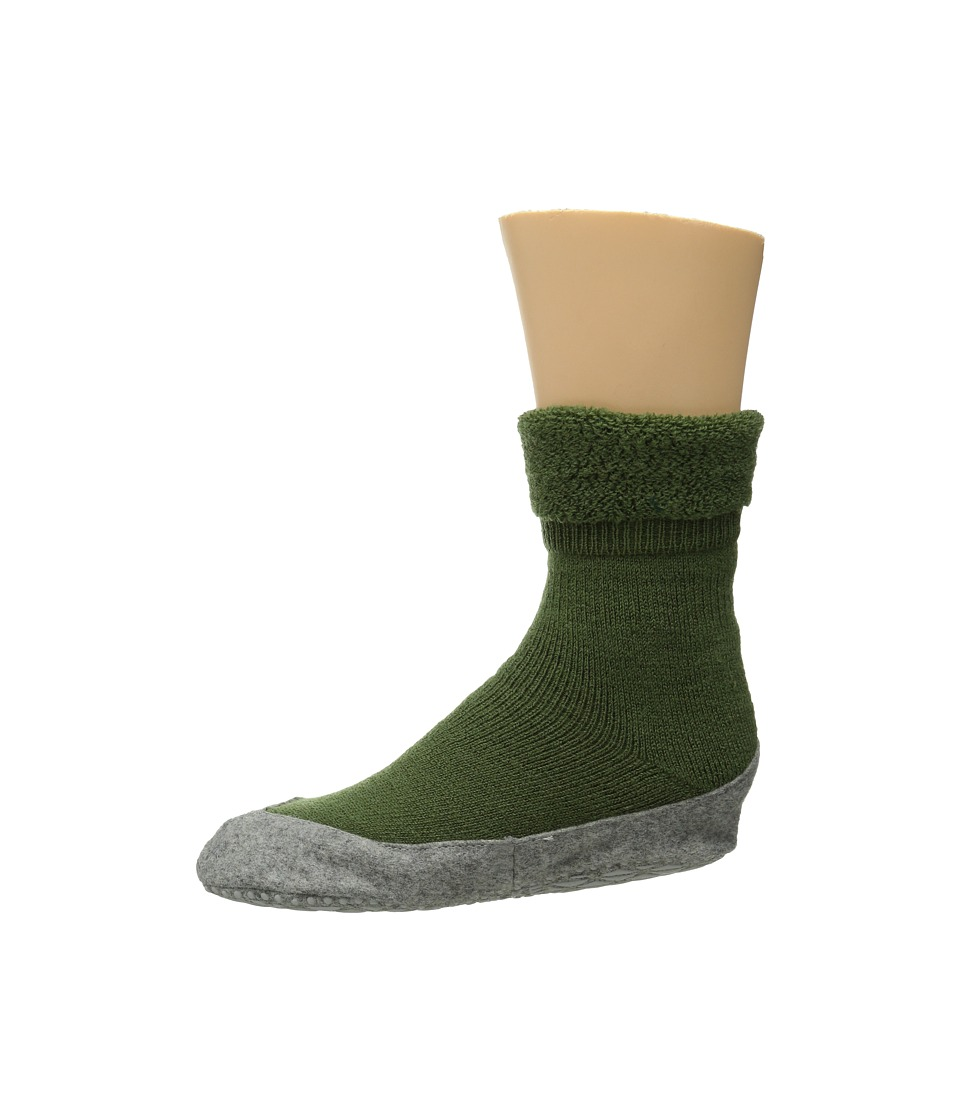 Falke - Cosyshoe (Cypress Green) Women's Crew Cut Socks Shoes