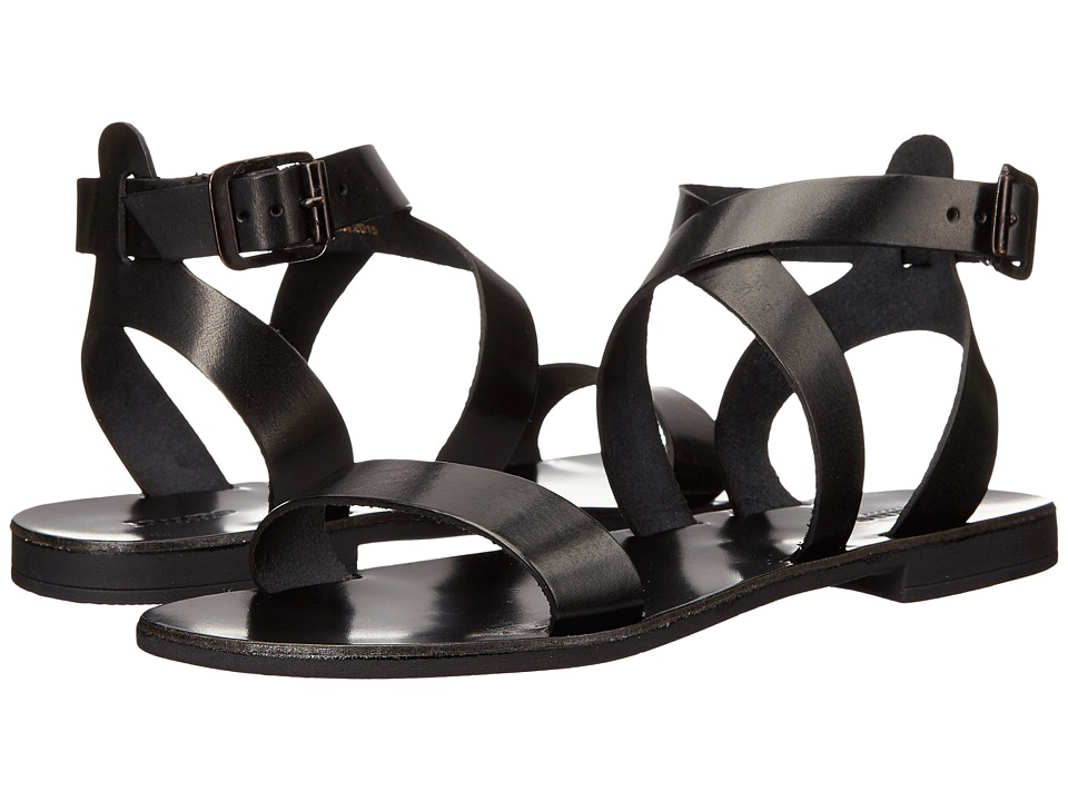 Dune London - Lotti (Black Leather) Women's Sandals