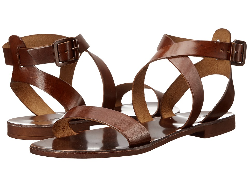 Dune London - Lotti (Tan Leather) Women's Sandals