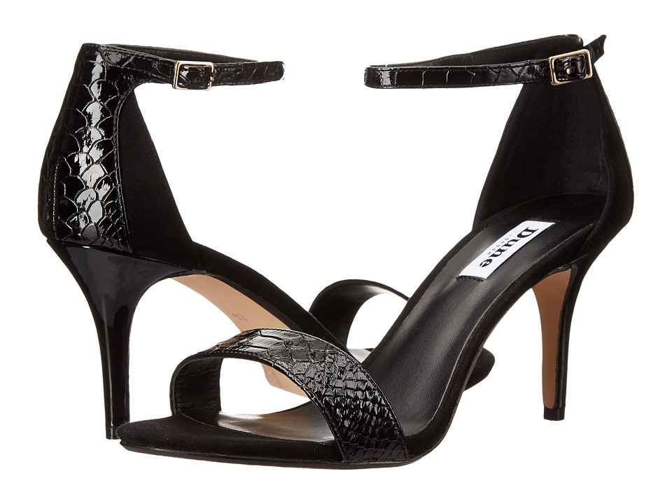 Dune London - Mariee (Black Reptile) Women's Shoes