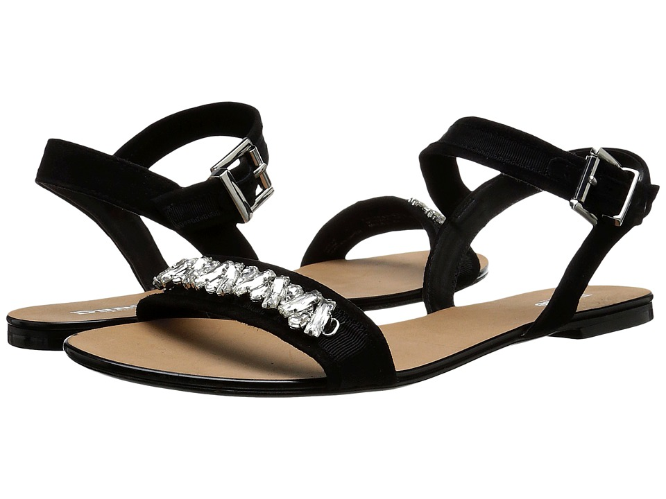 Dune London - Neeve (Black Suede) Women's Sandals
