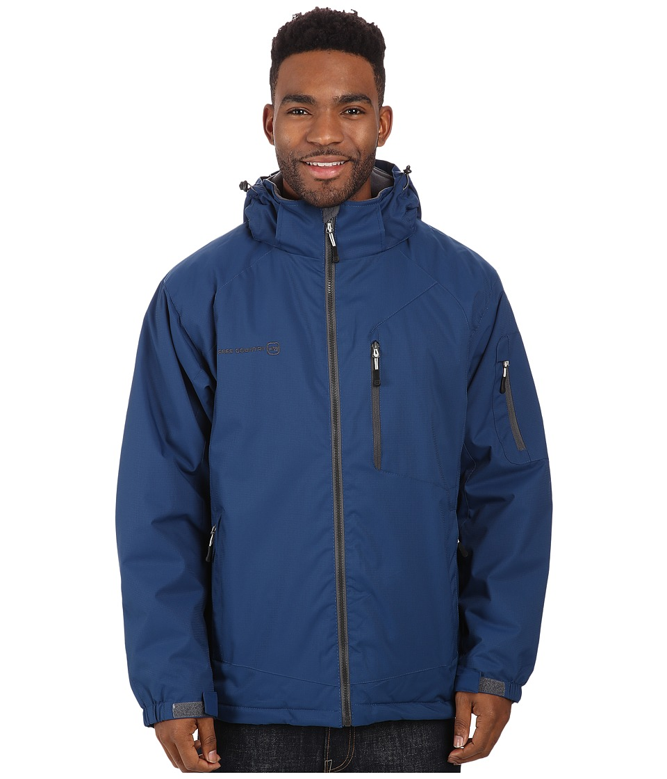 Free Country - Cubic Dobby (Cold Blue) Men's Coat