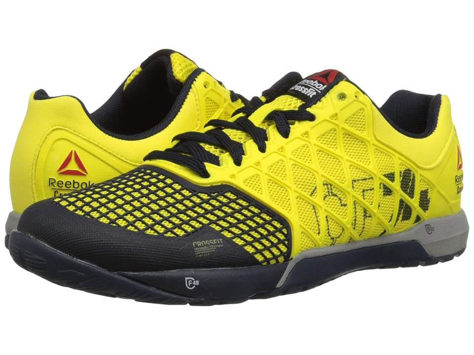 a344a2d9de2 ... UPC 888163724793 product image for Reebok - Crossfit Nano 4.0 (Stinger  Yellow Reebok Navy ...