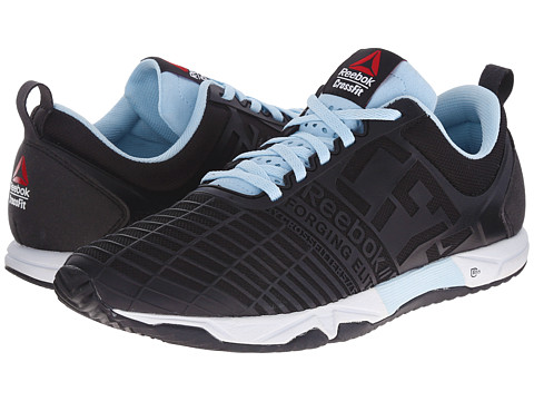Reebok - Crossfit Sprint Tr (Black/Dreamy Blue/White) Women's Shoes