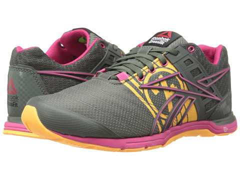 Reebok - Crossfit Nano Speed (Ironstone/Candy Pink/Neon Orange) Women's Shoes
