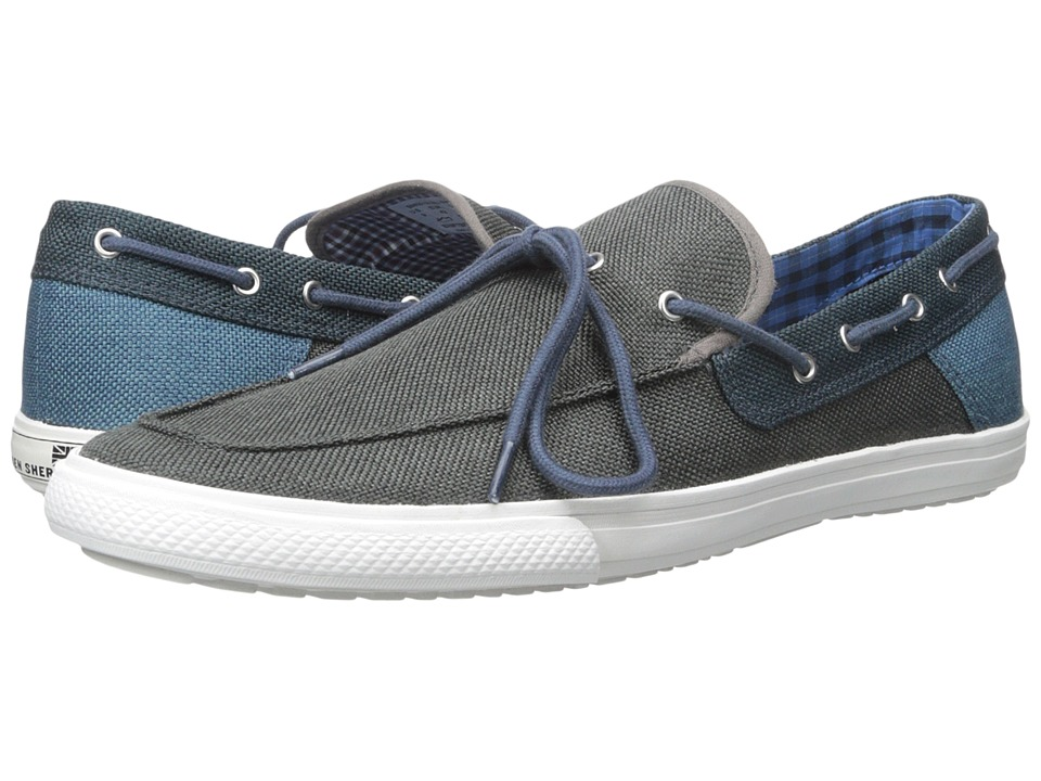 Ben Sherman - Seth Slip-On (Navy) Men's Lace Up Moc Toe Shoes