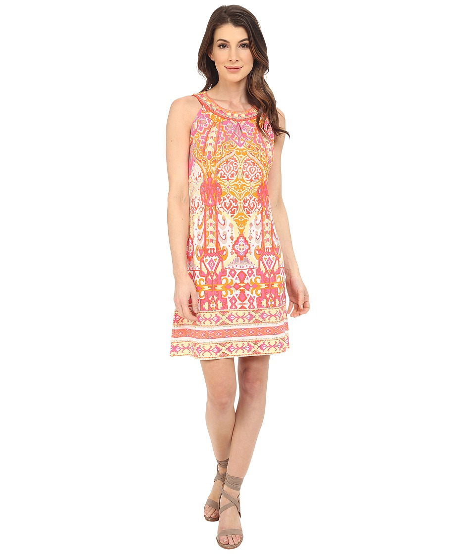 Hale Bob - Eye Candy Dress (Coral) Women's Dress