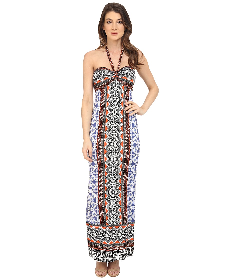 Hale Bob - Stylish Standout Maxi Dress (Blue) Women's Dress