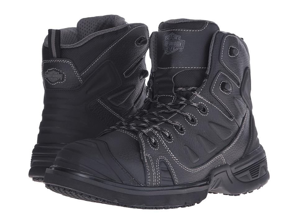 Harley-Davidson - Foxfield (Black) Men's Boots