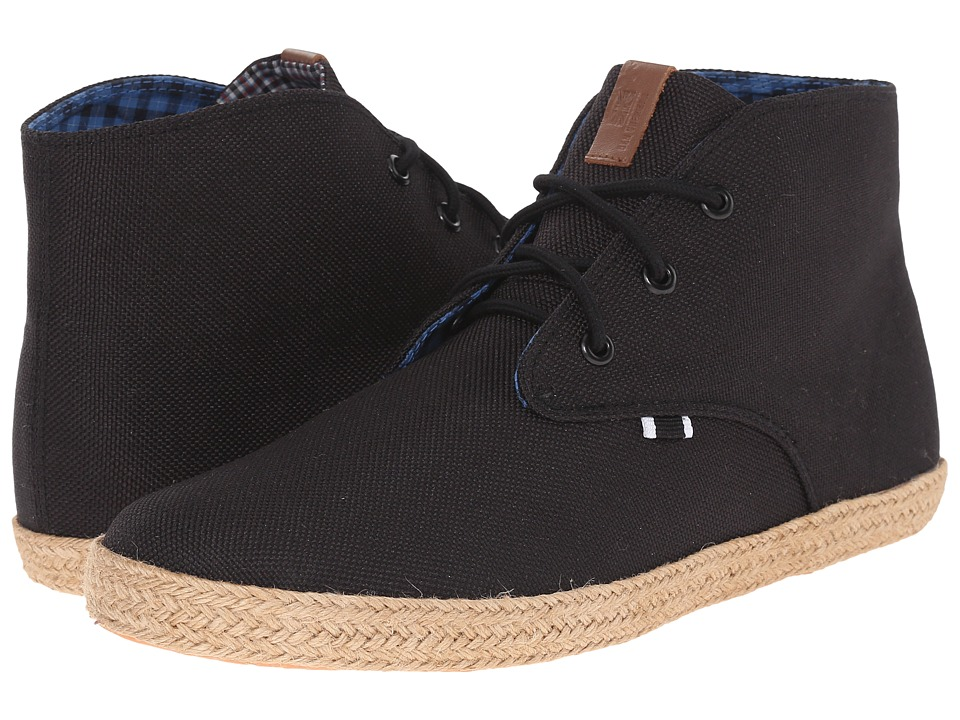 Ben Sherman - Prill Chukka (Black Linen) Men