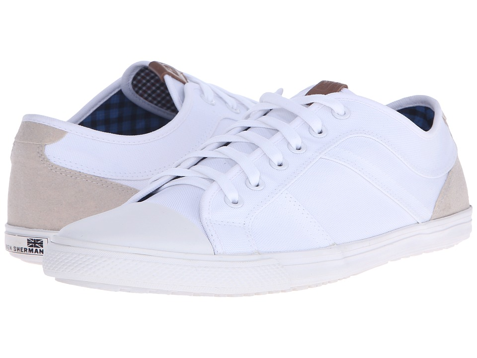 Ben Sherman - Madison Lo (Off-White) Men's Lace up casual Shoes