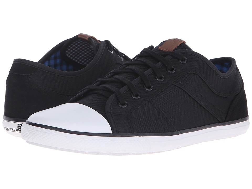 Ben Sherman - Madison Lo (Jet Black) Men's Lace up casual Shoes