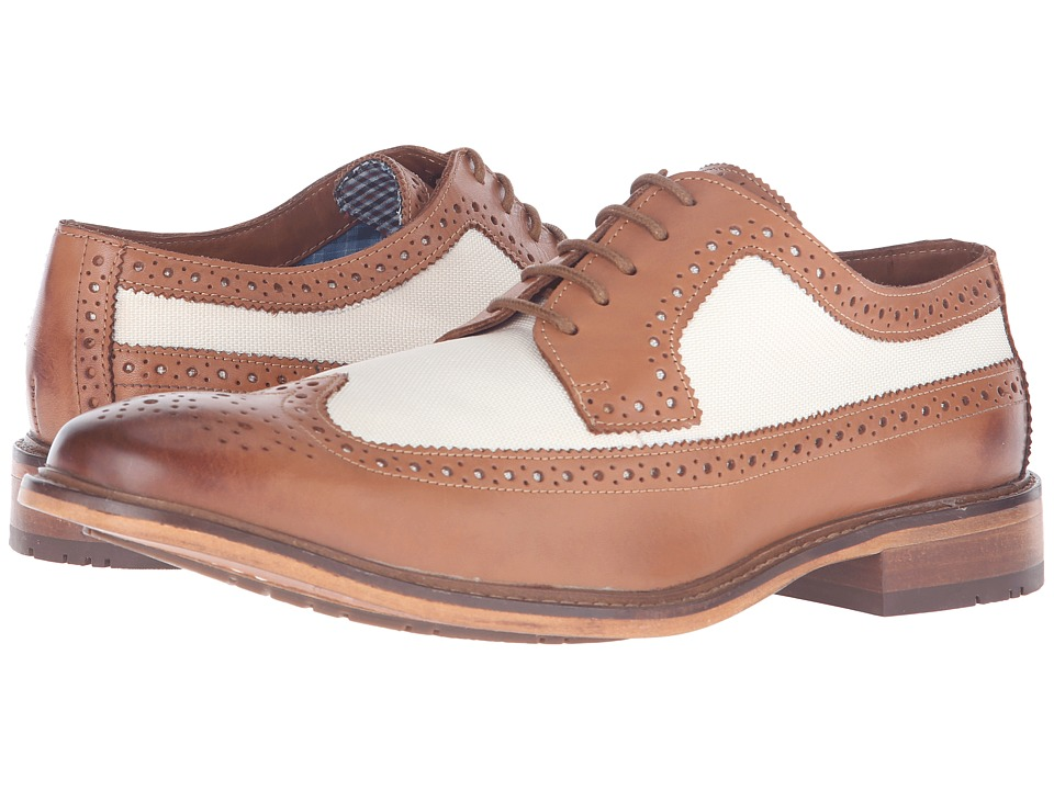 Ben Sherman - Marc (Linen) Men's Lace Up Wing Tip Shoes