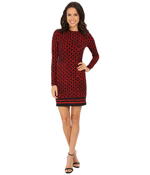 MICHAEL Michael Kors - Musenyi Border Dress (Red Blaze) Women's Dress