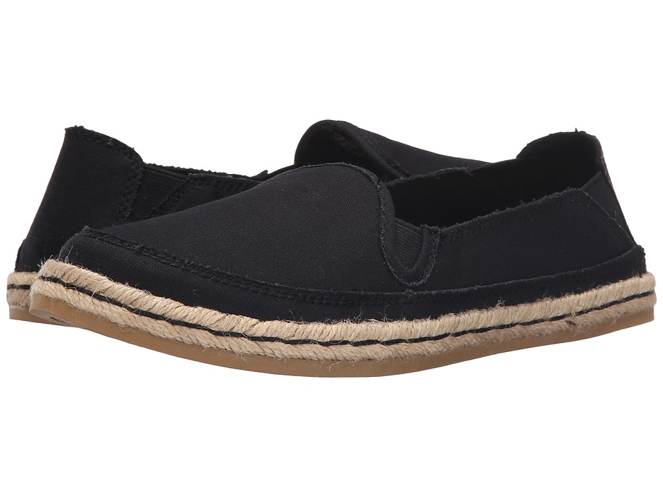 Hush Puppies Cassie Kelli (Black Canvas) Women