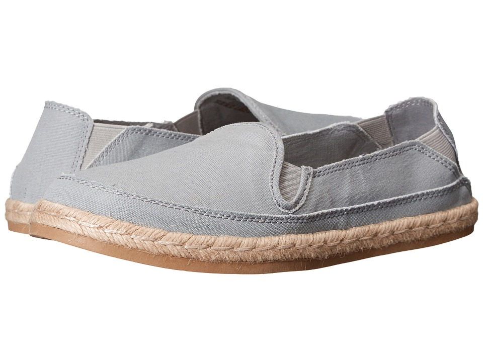 Hush Puppies - Cassie Kelli (Grey Leather/Suede) Women's Slip on Shoes