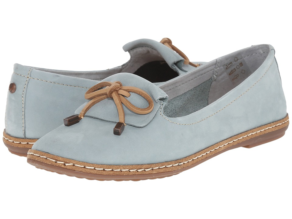 Hush Puppies - Adena Piper (Slate Blue) Women's Slip on Shoes