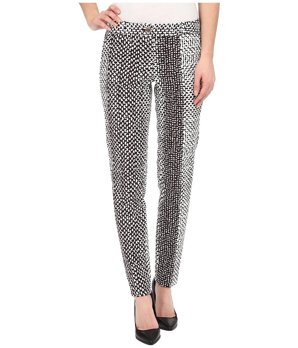 MICHAEL Michael Kors - Kobe Miranda Pants (Chocolate/White) Women's Casual Pants