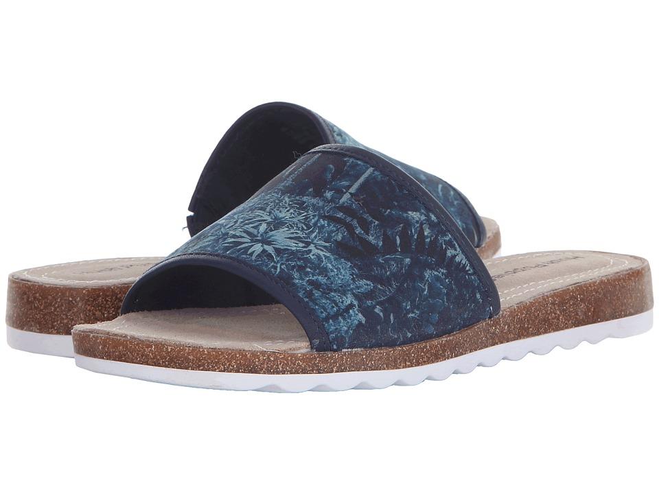 Hush Puppies - Panton Jade (Navy Leather) Women's Slide Shoes