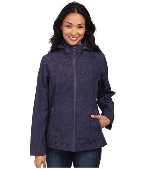 Free Country - Butterpile Softshell (Purple Moon/Heather Ice/Mineral Grey Pop) Women