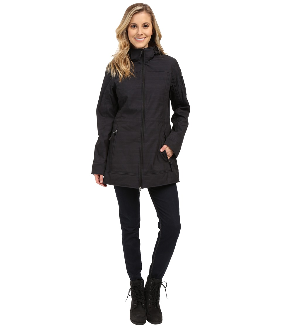 Free Country - Butterpile Softshell Anorak (Black) Women's Coat