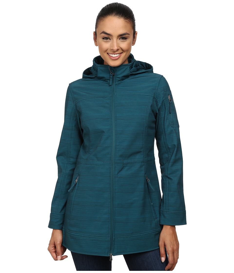 Free Country - Butterpile Softshell Anorak (Green Moss) Women
